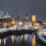 Weihnachtsmarkt am Rheinauhafen